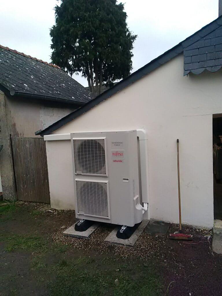 Installation de pompes à chaleur